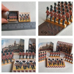 Open House Miniatures - box of dolls' house toy soldiers