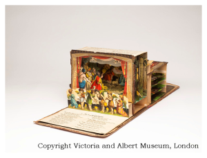 Theater Buildbuch - from the collection of the Victoria and Albert Museum in London