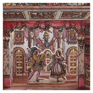 Open_House_Miniatures_Victorian_Toy_Theatre_ Cinderella_and_the_Prince_dancing