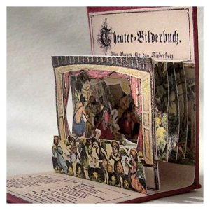 Open House Miniatures - Theater Bildersbuch, single scene nativity, Adoration of the Magi