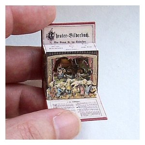 Open House Miniatures - Theater Bildersbuch, single scene, Red Riding Hood