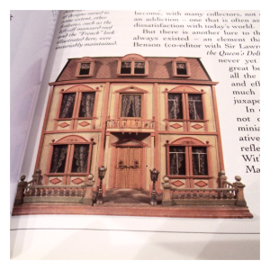 Christian Hacker House from Faith Eaton's The Ultimate Dolls' House Book