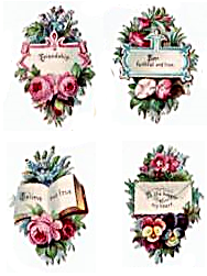 open house miniatures miniature scraps romantic messages