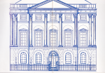 Britannia House Catalogue - open catalogue showing the illustration of the house in full