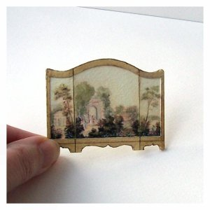 Open House Miniatures - Dolls' House Fire Screen