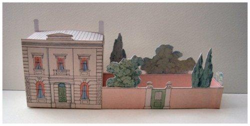 Victorian Suburban Villa - house and garden made up