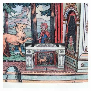 Open House Miniatures - dolls house paper theatre kit