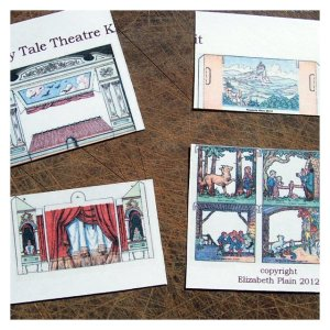Open House Miniatures - Fairy Tale Theatre Kit for Dolls' House