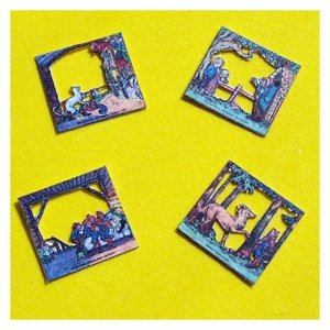 Open House Miniatures - Fairy Tale Theatre Kit - all the scenes