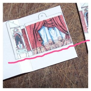 Open House Miniatures - Fairy Tale Theatre Kit  -1st mistake