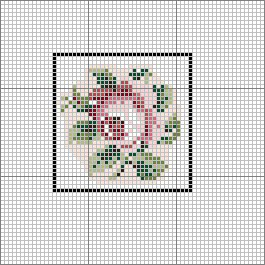 Open House Miniatures - Royal School of Needlework Charted Roase