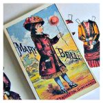 Open House Miniatures - miniature paper doll Mary Bell