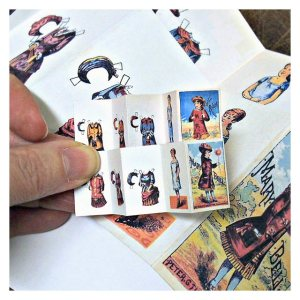 Open House Miniatures - miniature paper doll download