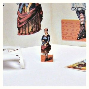 Open House Miniatures -miniature paper doll