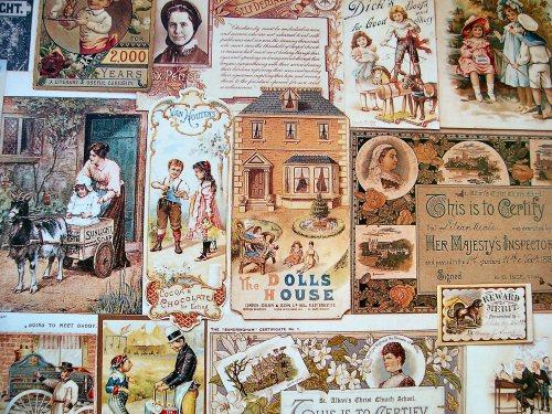 Robert Opie's Victorian Scrapbook - endpaper
