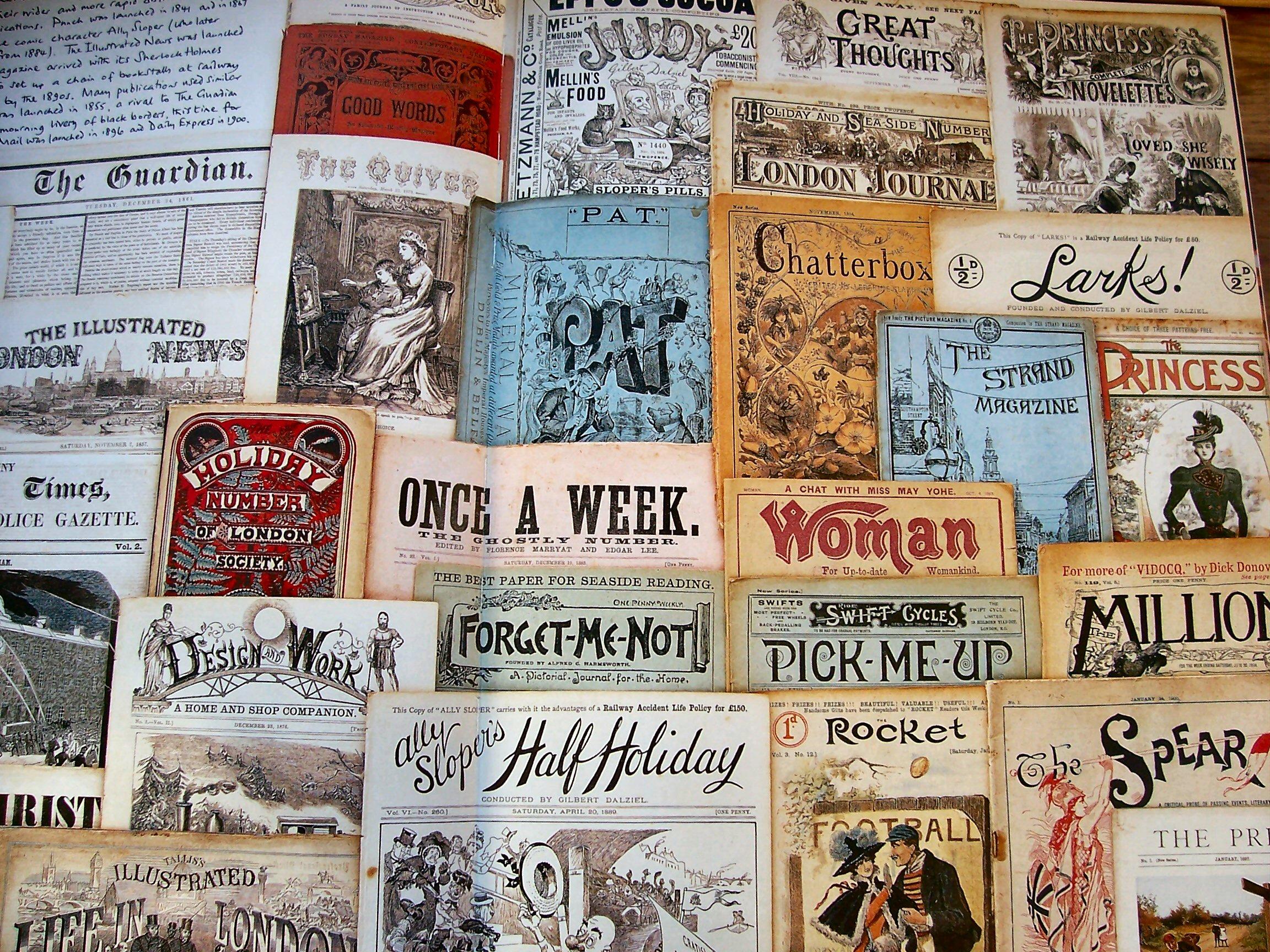 How to scrapbook magazines - Robert
