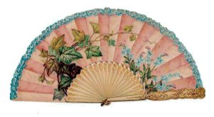 Open House Miniatures _ Victorian Scrap Fan