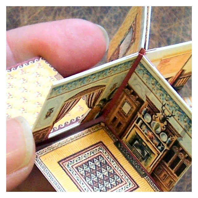 How To Make A Folding Dolls House Open House Miniatures