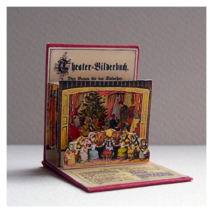 Open House Miniatures - Theater Bilderbuch - one scene