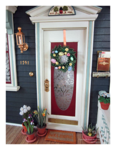 kathleen Holmes' Doll House - Front Door