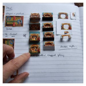 Open House Miniatures - Notebook - Nativity Scene 2013
