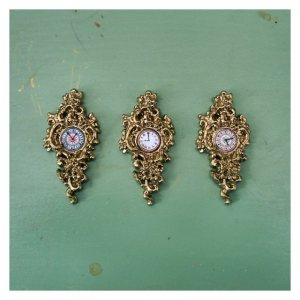 open_house_miniatures_three_cinderella_cartel_clocks