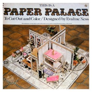 This is a Paper Palace to Cut Out and Color - Evaline Ness