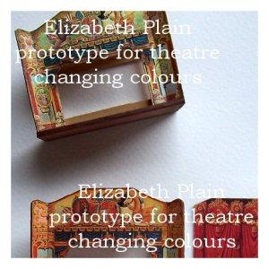 open house miniatures - theatre colour change