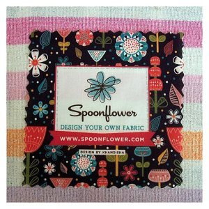 Open House Miniatures - Spoonflower fabric compliment slip