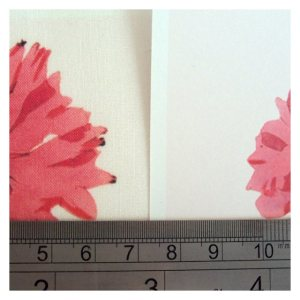 Open House MIniatures - Spoonflower Test Print - colour comparison