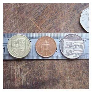 Open House Miniatures - UK coins