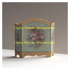 Open House Miniatures - dolls house firescreens