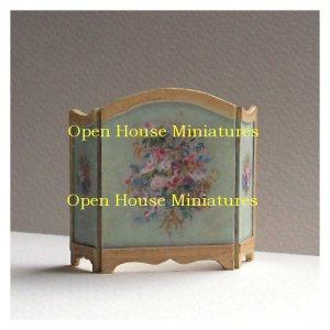 Open House Miniatures - dolls house firescreens