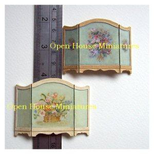Open House Miniatures - miniature firescreens