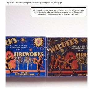 Open House Miniatures - new look fireworks
