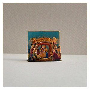 open house miniature nativity set christmas 2013