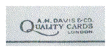 A M Davis - Quality Cards Logo