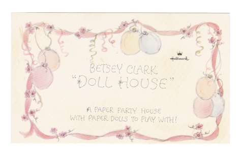 Betsey Clark Doll House - Card Header UK Version