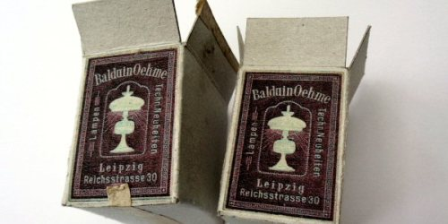 miniature boxes for a german lamp