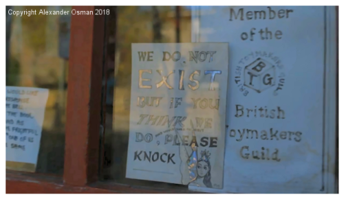 Kristin Baybars - film still - detail of front door
