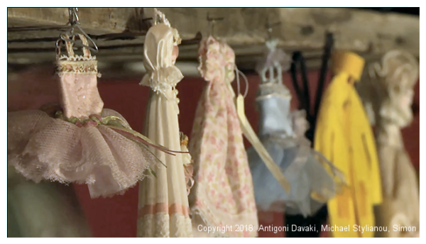 Kristin Baybars - miniature clothes hanging up