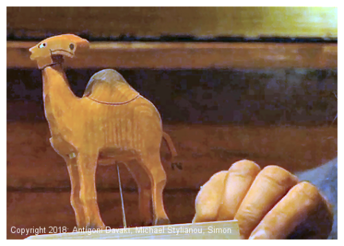Kristin Baybars - wooden mechanical toy camel