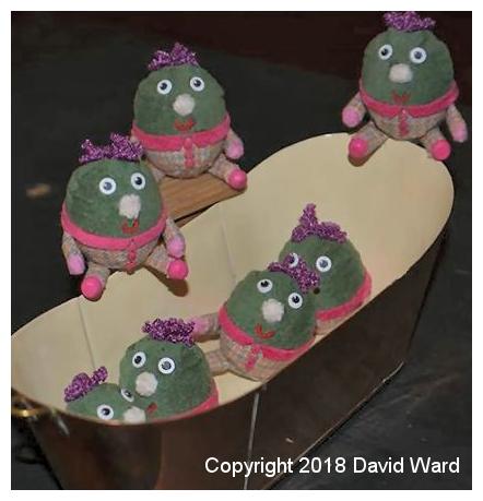 Kristin Baybars - miniature humptys