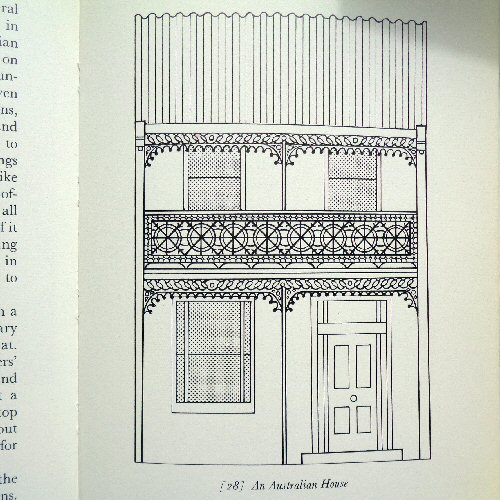 the dolls' house book - pauline flick - 1973 - australian house illustration