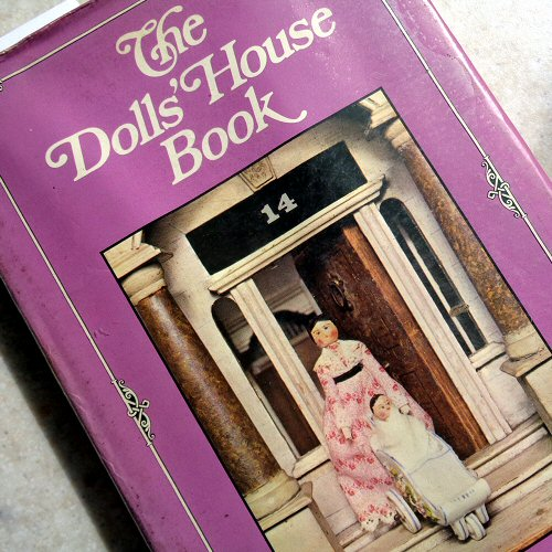 book cover - the dolls' house book - pauline flick - 1973