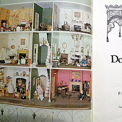 the dolls' house book - pauline flick - 1973 - frontispiece