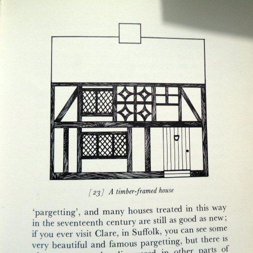 the dolls' house book - pauline flick - 1973 - timber framed suffolk house