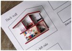 The 'E' House completed - and outsize house plan