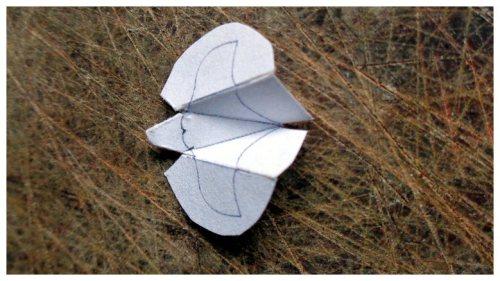 miniature bat shape