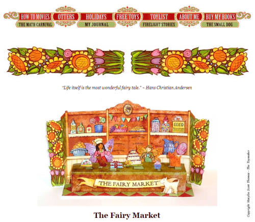 marylin scott thomas - the toymaker- fairy market - to make